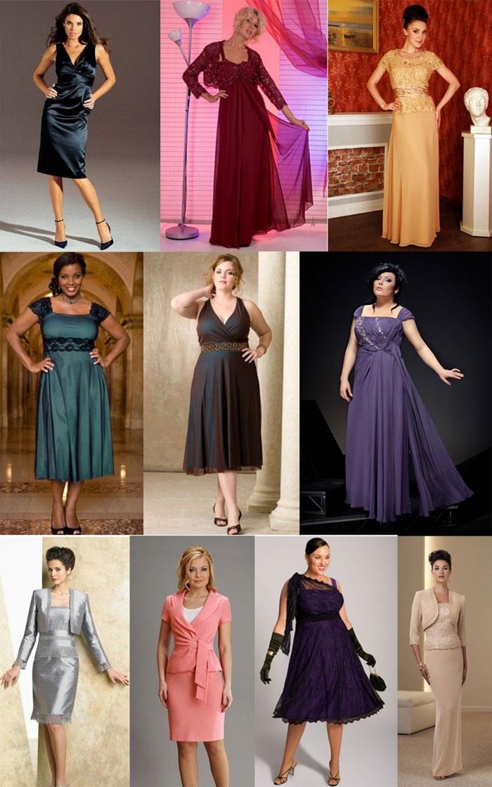 Вечернее платье для женщины в возрасте