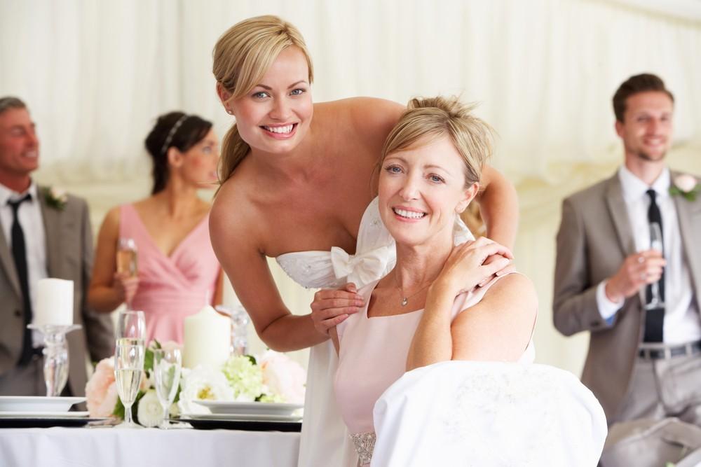 Причёска на свадьбу к дочери