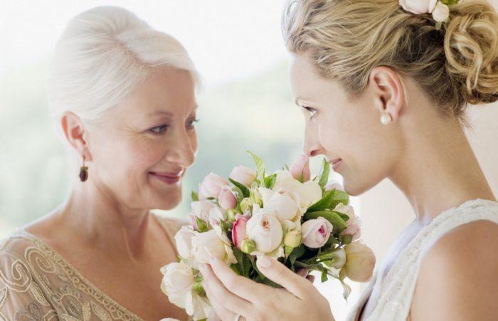 мама с невестой