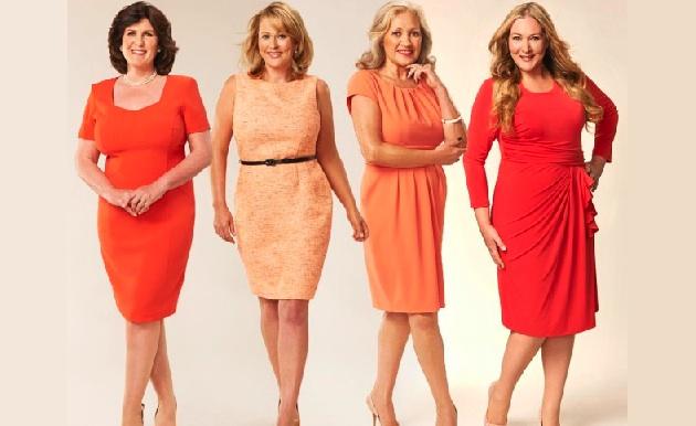 платье для полных женщин