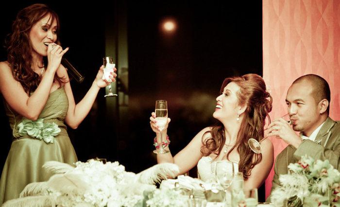 Тост на свадьбе от жениха