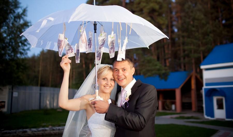 Идеи дарения денег на свадьбу
