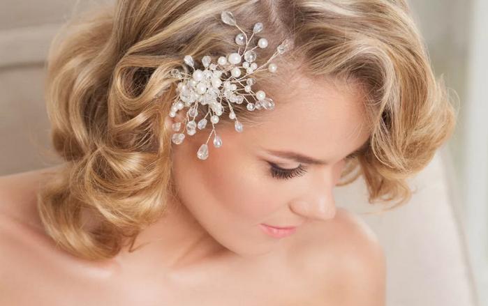 украшение для волос невесты
