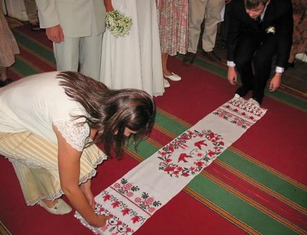 Рушник для венчания