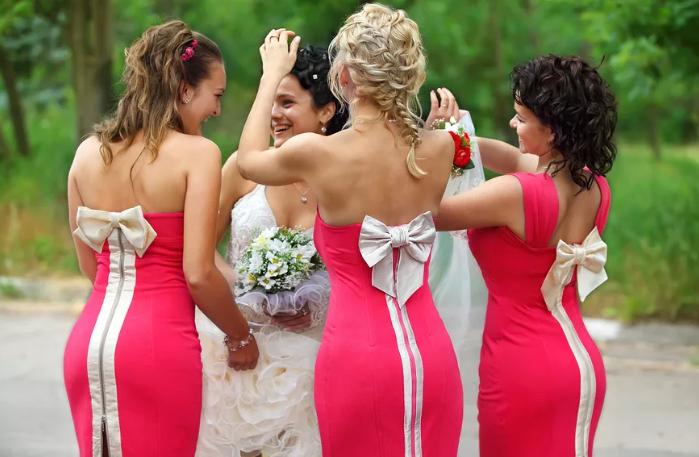 Внешний вид подружек невесты
