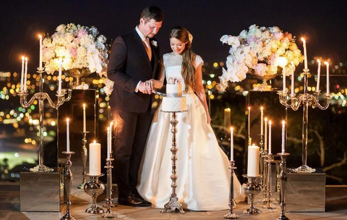 Освещение свадебной церемонии
