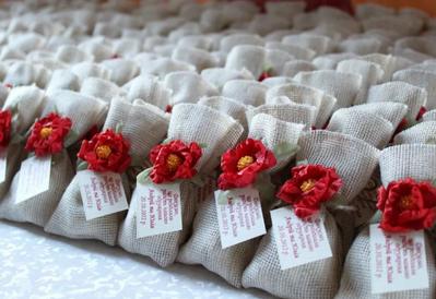 свадебный мешочек