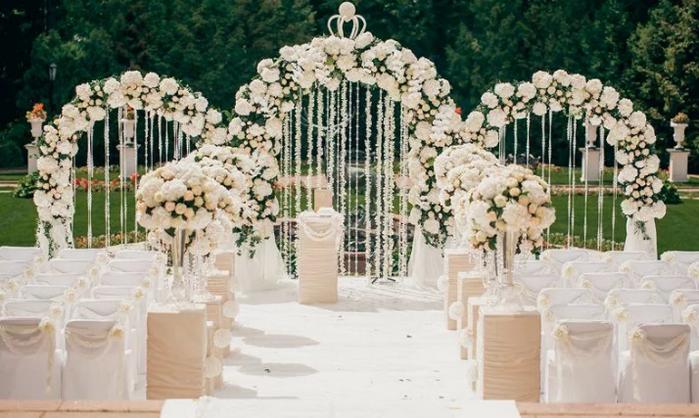 декор на выездной свадьбе