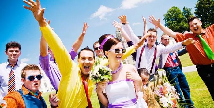 свадебные гости