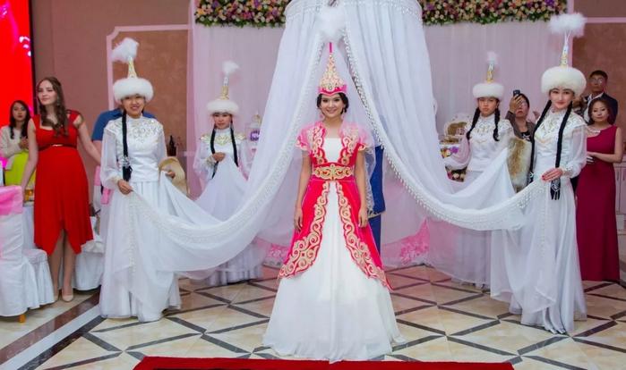 свадебное платье в Кыргызстане