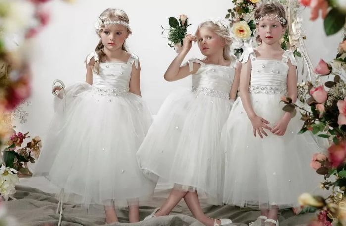 детские свадебные наряды