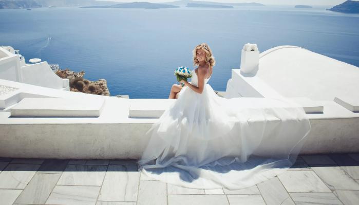 невеста у моря