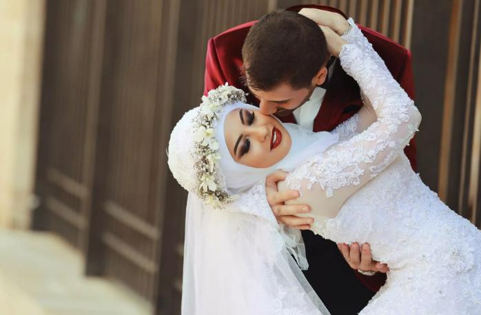 поцелуй у мусульман