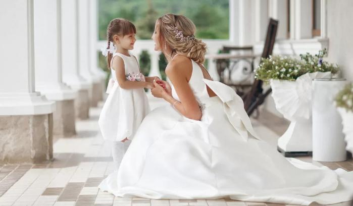 невеста с ребёнком