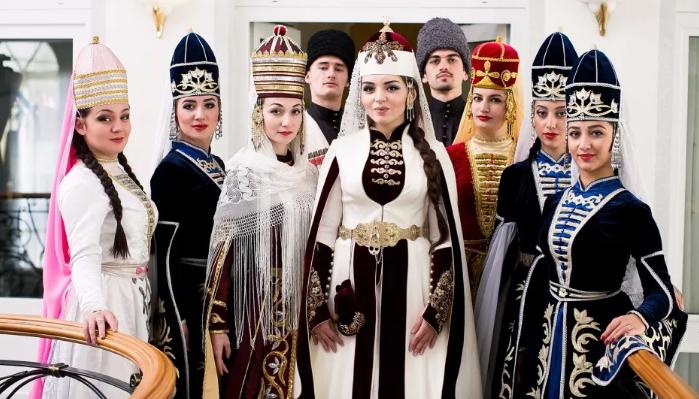 невеста с подружками в Адыгее