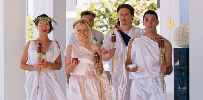 Выкуп невесты в греческом стиле