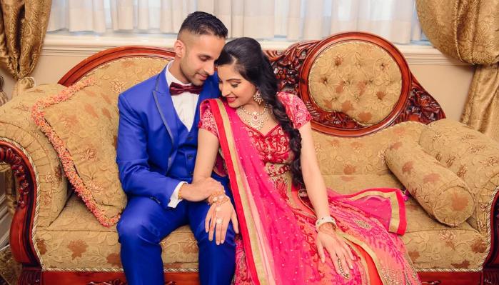жених и невеста вместе