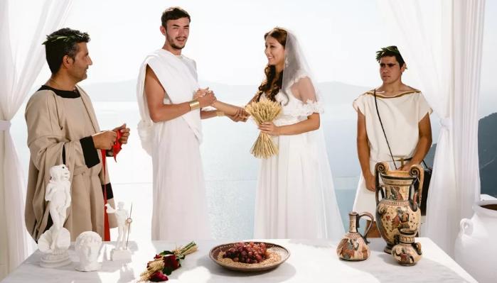 Сватовство в Греции