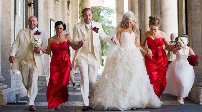 свадебный забег