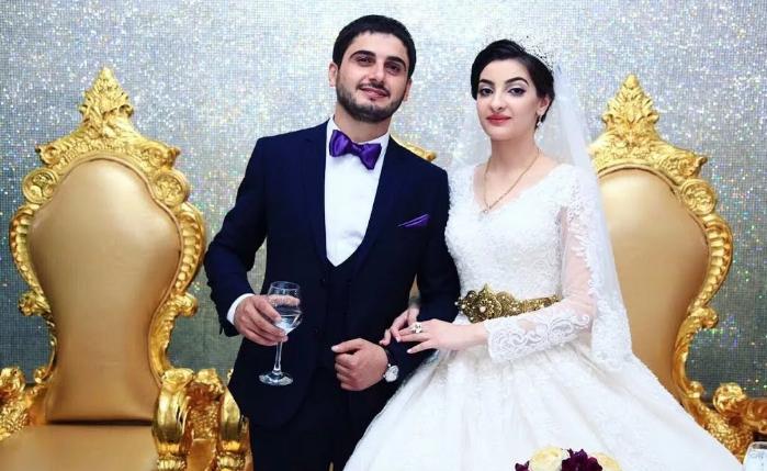 жених и невеста у курдов
