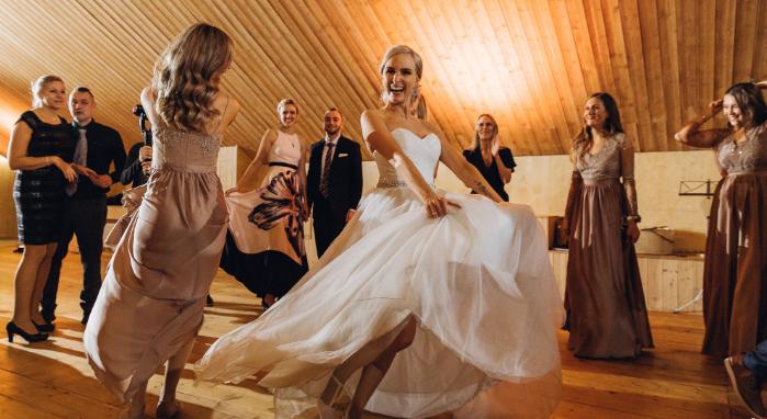 танцы на финской свадьбе