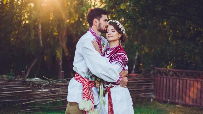 жених и невеста в Белоруссии