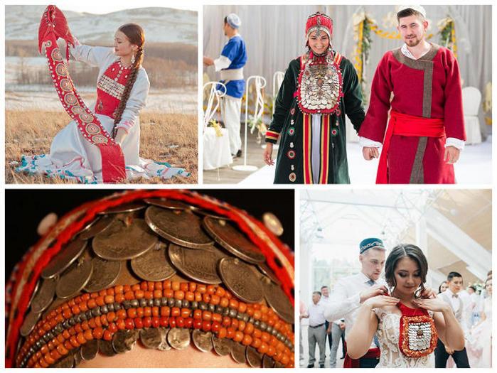 свадебная одежда в Башкирии