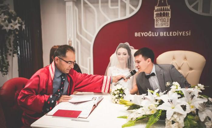 регистрация брака в Стамбуле