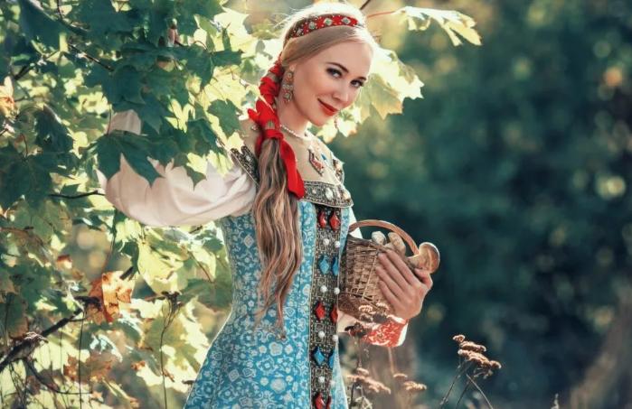 невеста с грибами
