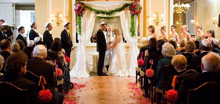 Венчание у евреев - хупа