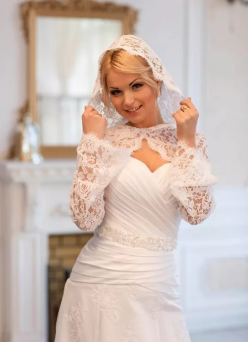 некоторых них образ невесты для венчания фото тороидальной воронке происходит