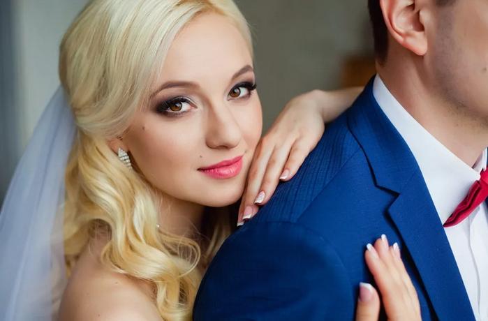 невеста за мужем