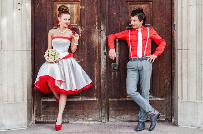 свадьба стиляг