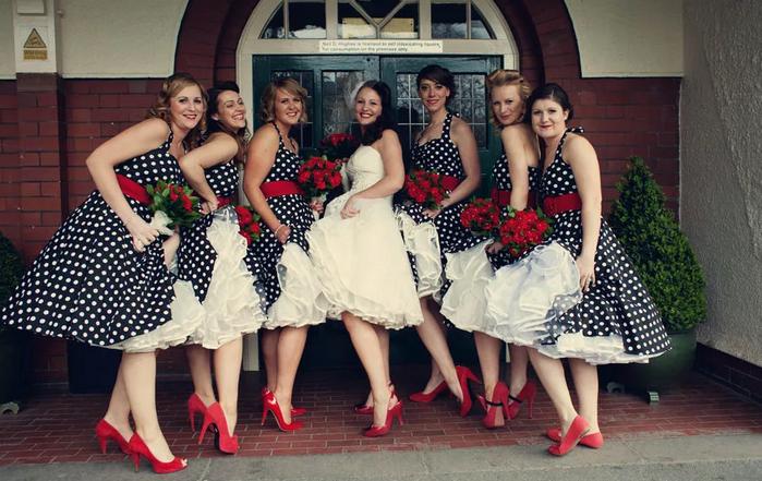 >Дресс-код гостей для ретро свадьбы