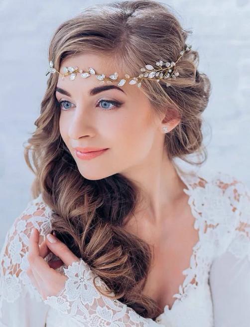 ободок невесты