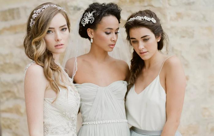 ободки у подружек невесты