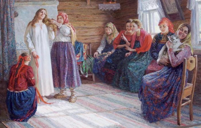 Древние поверья на свадьбе
