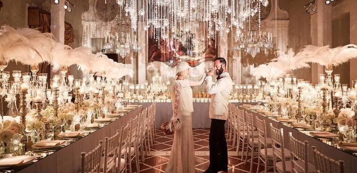 шикарный свадебный зал