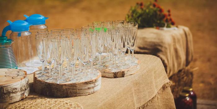 свадебный столик