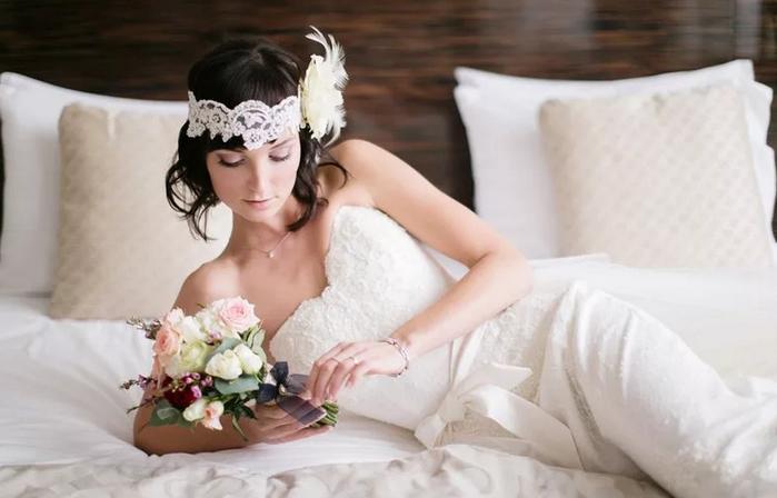 невеста в стиле гэтсби