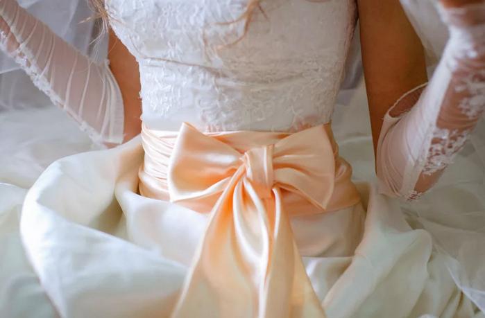 бант невесты