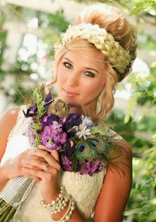 невеста в стиле Ренессанс