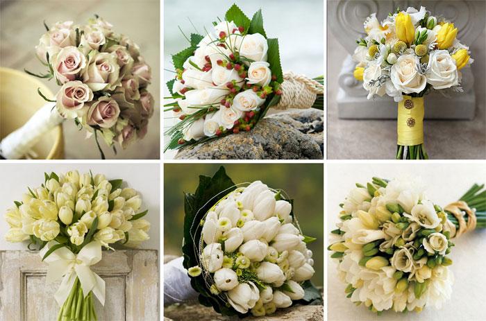 букеты невесты