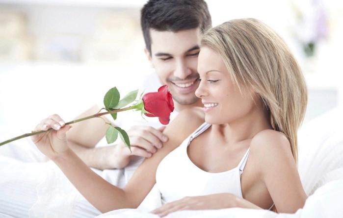 подарочная роза с утра