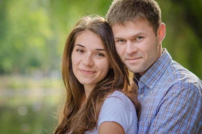 жена и муж вместе