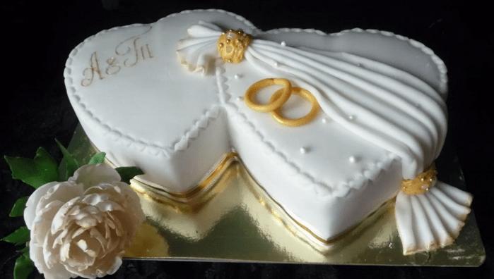 торт для годовщины свадьбы