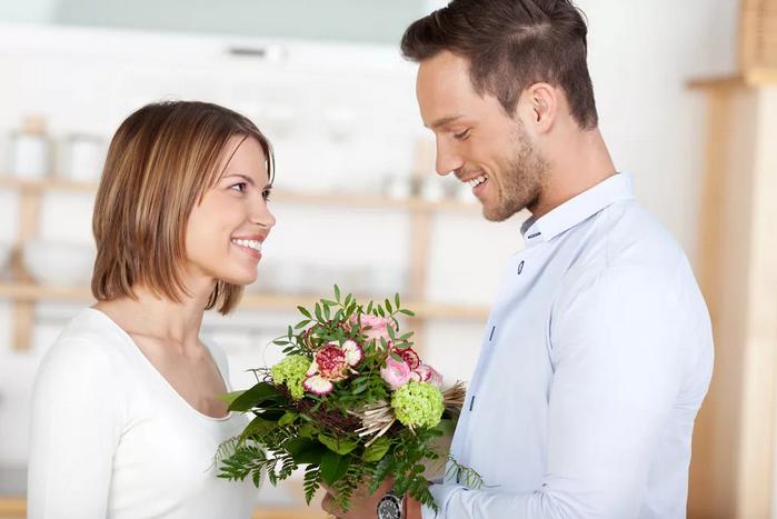 цветы для жены