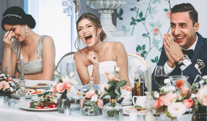 Смех невесты