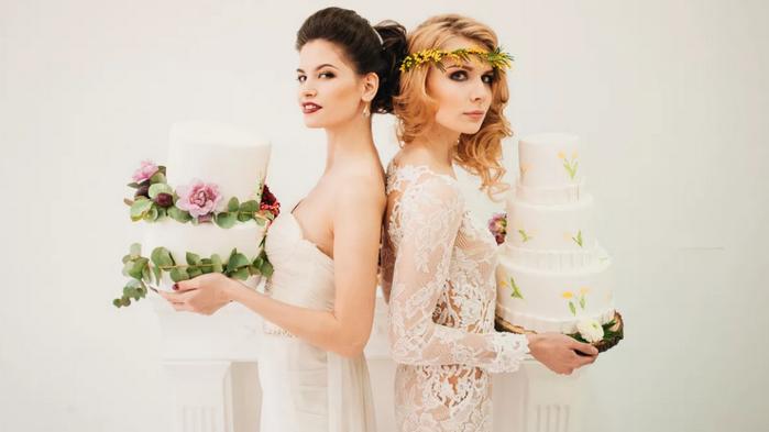вынес свадебных тортов