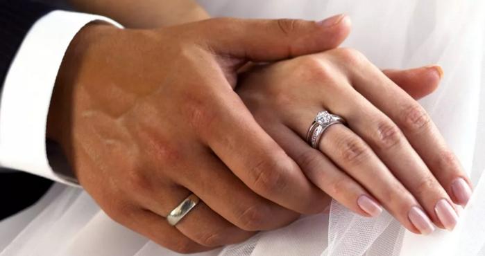 как носят венчальные кольца